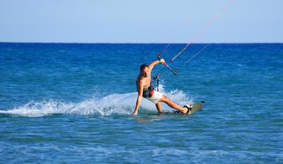 Szkolenie kitesurfingu w Dziwnówku