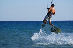 Wyjazd windsurfingowy - kitesurfingowy na greckie wyspy Rodos (Prasonisi)
